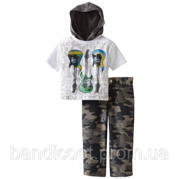 Набор для мальчика рубашка, штаны Baby Togs, размер 12  месяцев