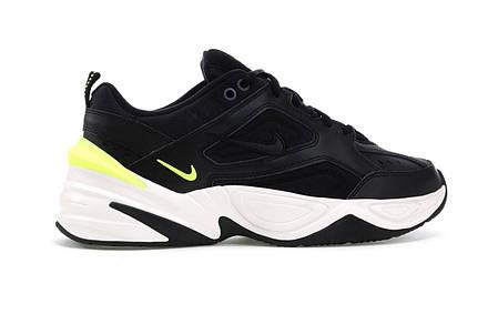 """Кроссовки Nike M2K Tekno """"Black Volt"""" (Черные), фото 2"""