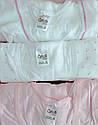 Набор хлопковых маек для девочки (3 шт) (Oztas, Турция), фото 2