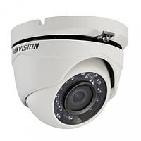Проводная купольная камера Hikvision Turbo HD DS-2CE56D0T-IRMF  2,8мм, угол обзора 103°