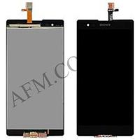 Дисплей (LCD) Sony D5303 Xperia T2 Ultra/  D5322 Xperia T2 Ultra Dual с сенсором чёрный
