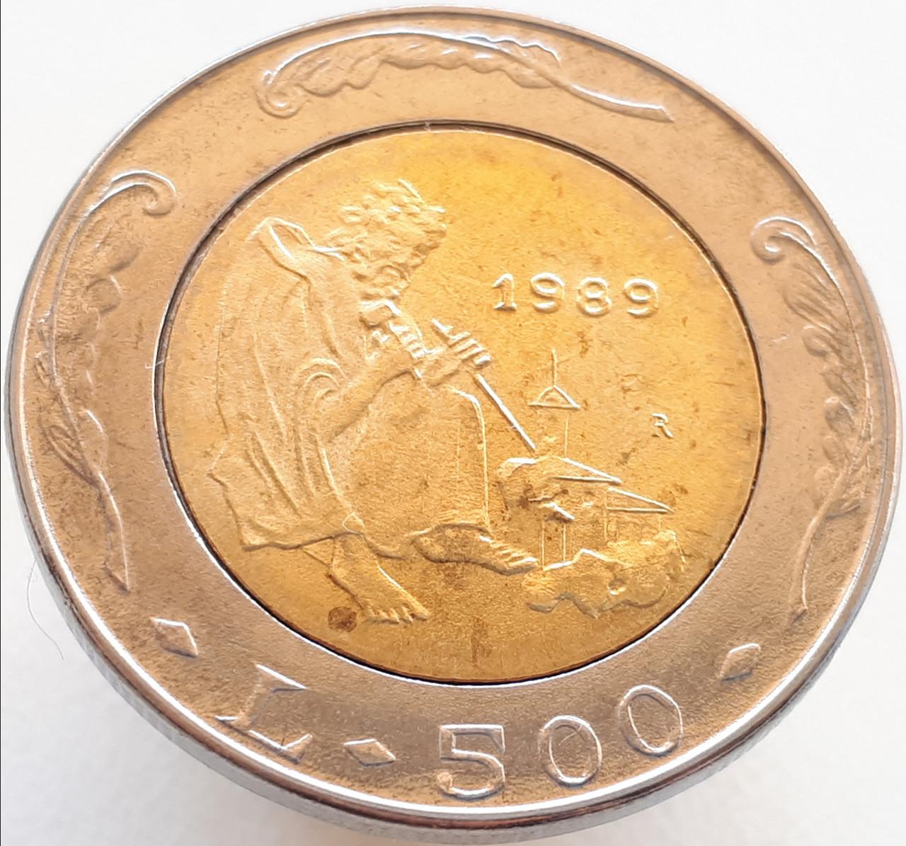 Сан-Марино 500 лир 1989