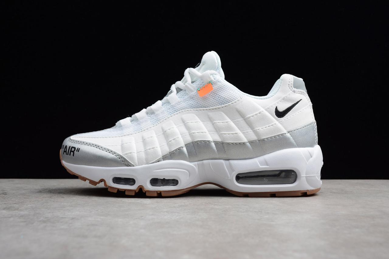 "Кроссовки Nike Air Max 95 ""Off White"" (Белые)"