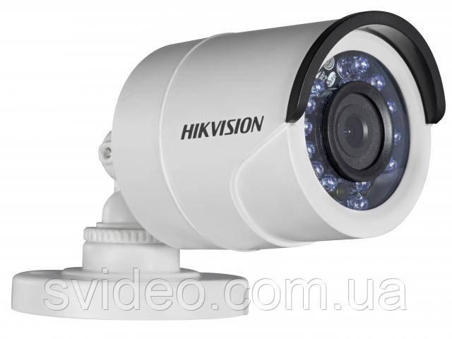 Проводная цилиндрическая камера Hikvision Turbo DS-2CE16D0T-IRF  3,6мм, угол обзора 86°