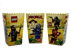 """Коробки для попкорну """"Ninjago"""". В упак: 5 штук"""