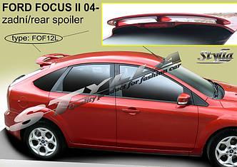 Спойлер козырек заднего стекла тюнинг Ford Focus mk2