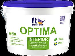 Латексная краска для стен и потолков FTP Optima Interior