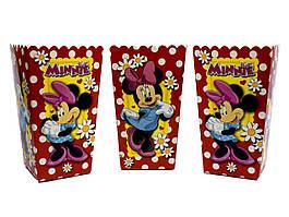 "Коробки для попкорну ""Minnie Mouse"". В упак: 5 штук"