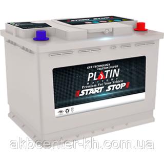 Автомобильный аккумулятор PLATIN Start Stop JP 6CT- 60Aз 560A R EFB