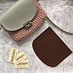 Крышка для сумки из эко кожи 21х18 см, фото 2