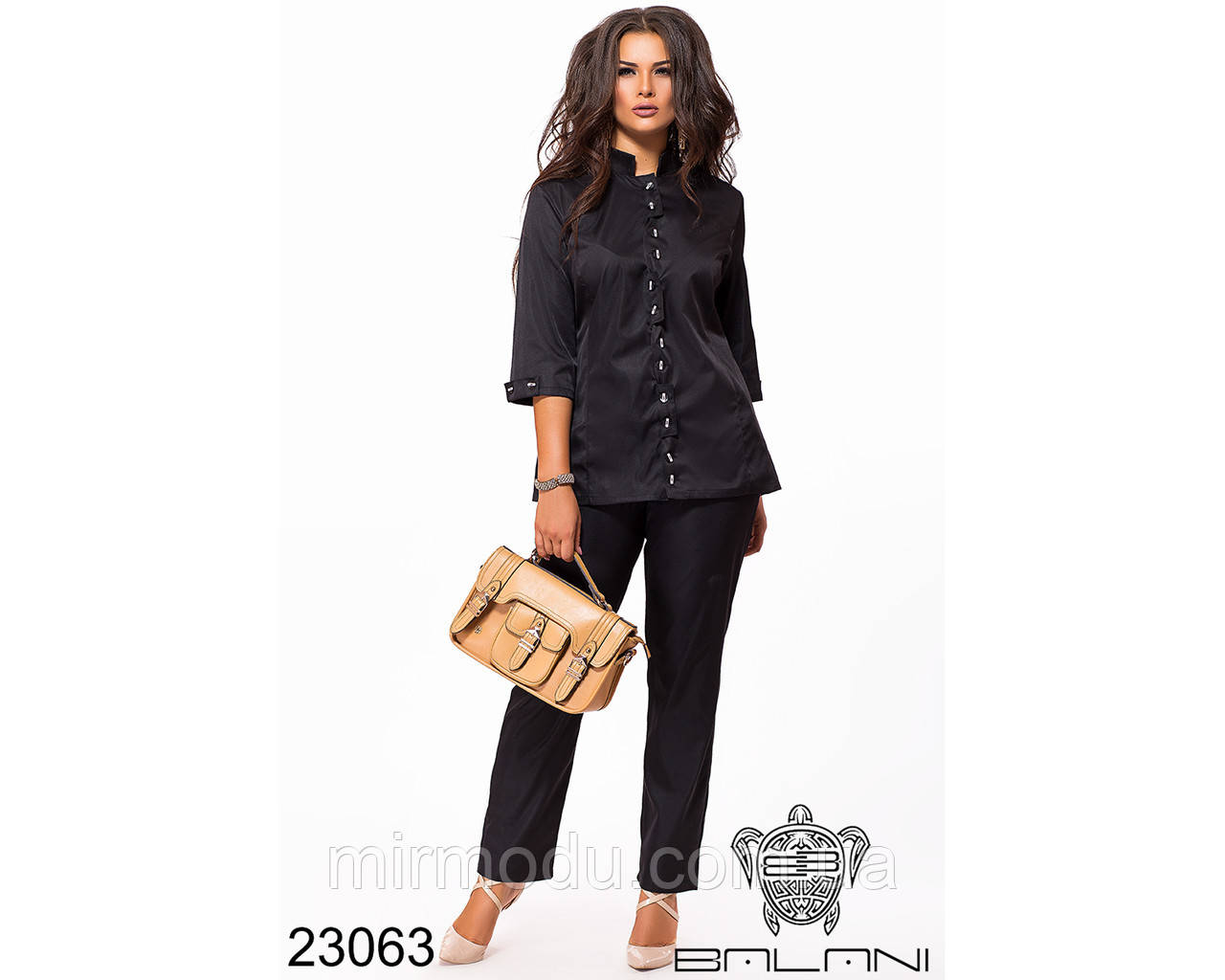 Брючный костюм - 23063 с 46 по 56 размер(бн)