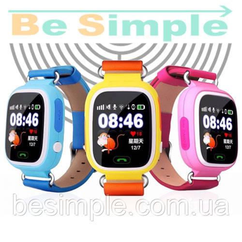 Smart Baby Watch Q100 Умные часы Q100 c GPS трекером (Оригинал) - BeSimple в 212a213b9b23d