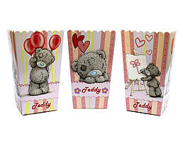 "Коробки для попкорну ""Teddy"". В упак: 5 штук"