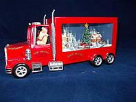 Новогодний грузовик Санта Клауса с музыкой и подсветкой.