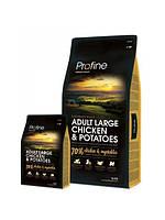 Profine ADULT LARGE BREED  CHICKEN & POTATOES  курица и картофель для  взрослых собак крупных пород