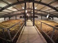 Склад  каркасное здание Овощехранилища, картофелехранилища