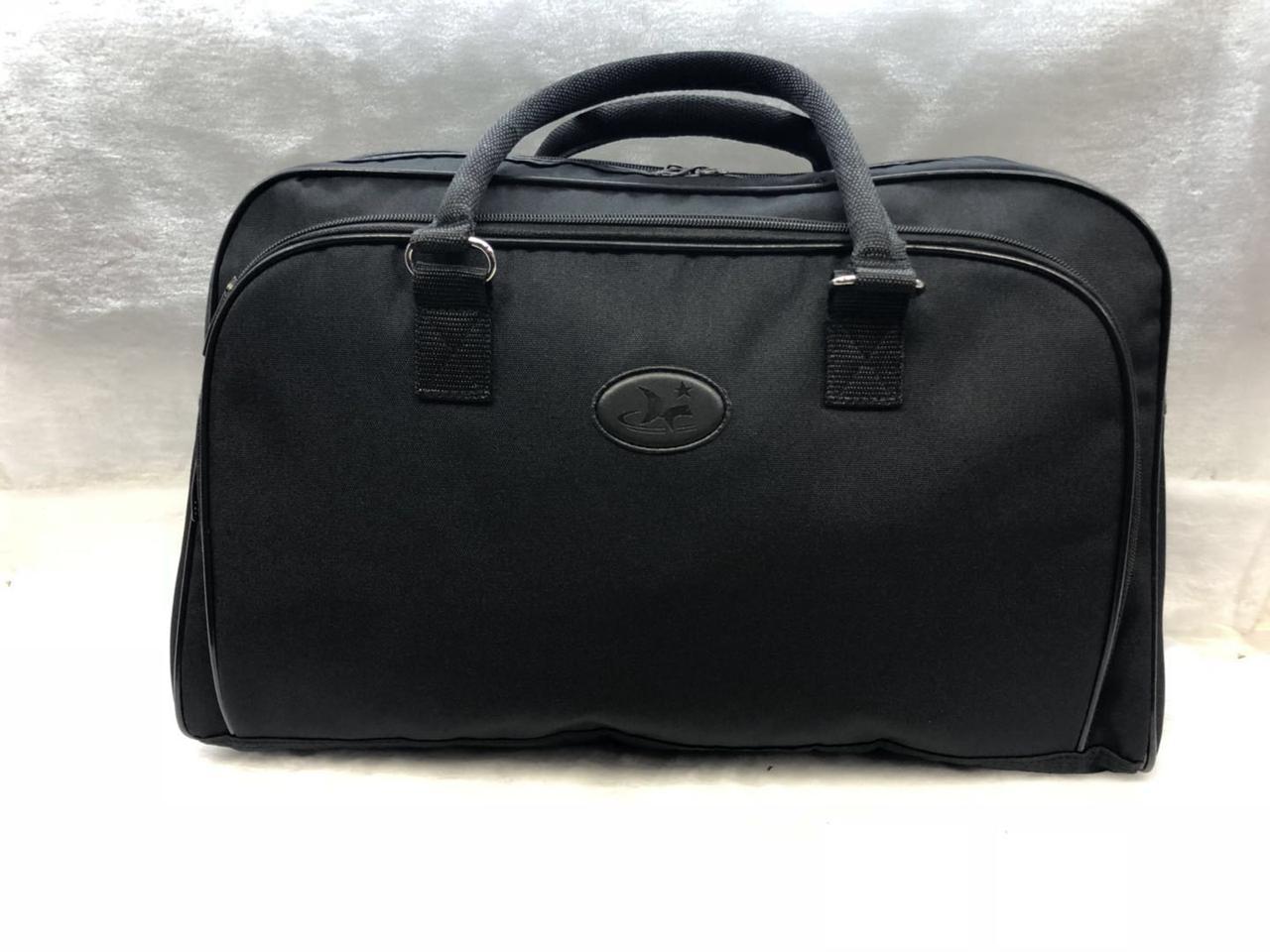 Дорожная сумка текстильная черная