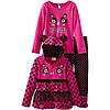 Комплект одежды для девочки. Кофта, реглан, лосины. ТМ  Nannette, размер 4 годика