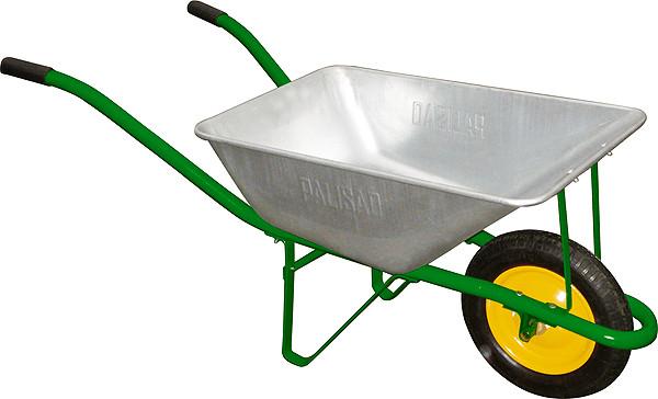 Тачка садова, вантажопідйомність 120 кг, об'ем 58 л// PALISAD