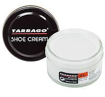 Крем для обуви из гладкой кожи Tarrago Shoe Cream, 50 мл, цв. белый