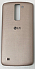 Задняя золотая крышка для LG K8 K350   K350E   K350N   Phoenix 2