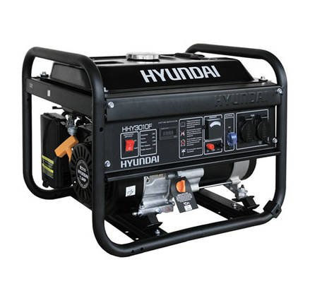 Генератор бензиновый Hyundai HHY 3010F (3кВт), фото 2
