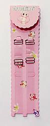 Бретели   для   бюстгальтера  силиконовые  14 мм