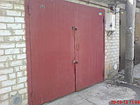 Распашные металлические ворота для гаража Киев