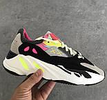 """Жіночі кросівки Adidas Yeezy Boost 700 """"Wave Runner Pink"""". Живе фото. (Репліка ААА+), фото 2"""
