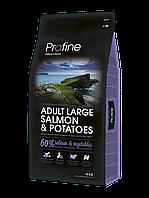 Profine ADULT LARGE BREED  SALMON& POTATOES  лосось и картофель для  взрослых собак крупных пород