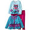 Комплект одежды для девочки. Кофта, реглан, лосины. ТМ  Nannette, размер 5 лет