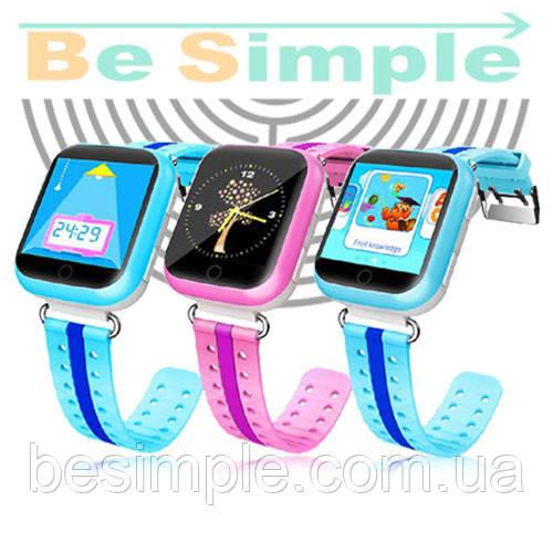 Smart Baby Watch Q100 Умные часы Q100S c GPS трекером (Оригинал)  продажа 7382a281460c2