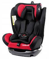Автокресло детское BabySafe Golden 0-36 kg (красно-черное)