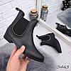 Сапожки резиновые Irma черный мат 5443, осенняя обувь
