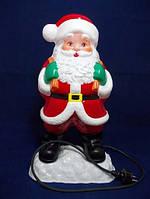 Санта Клаус для улицы с подсветкой h=50 см