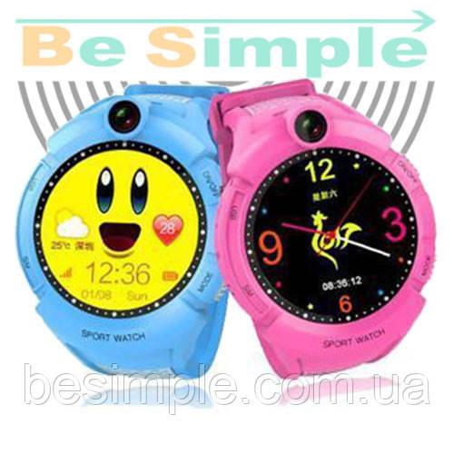 Smart Baby Watch Q360 Детские умные GPS часы с камерой и фонариком