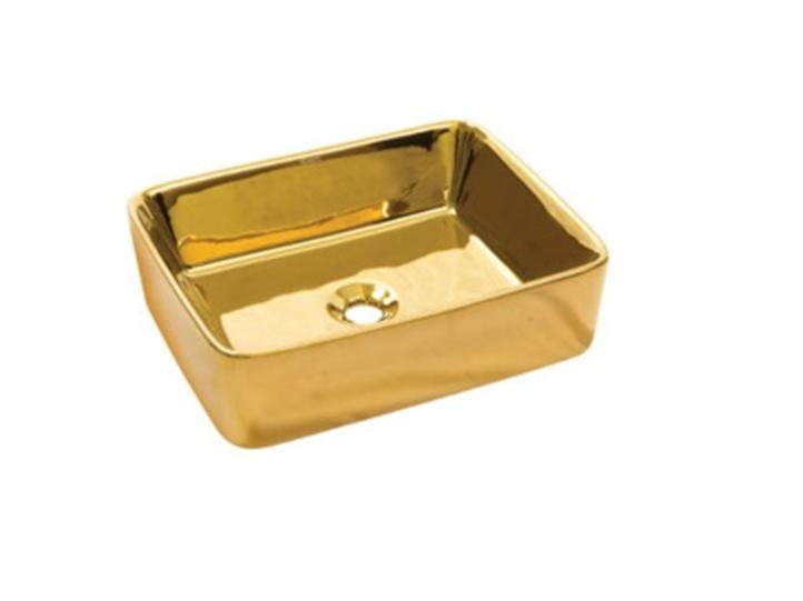 Умывальник NEWARC Silver countertop 51 (5011G) золото