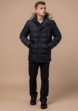Куртка мужская с опушкой Braggart 31042 черный, фото 2