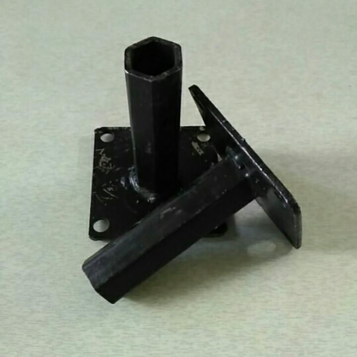 Шестигранная полуось на мотоблок Ø 24 мм длина 120 мм
