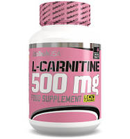 BioTech L-Carnitine 500mg 60 tab (lemon)