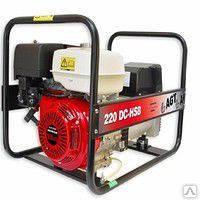 Сварочный генератор AGT WAGT 220 DC HSВ 3,5/6,5 кВт