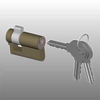 Цилиндр Тандем МЦ-1 (3 ключа)