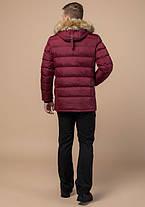 Куртка мужская зимняя с опушкой Braggart 31042 бордовый, фото 3