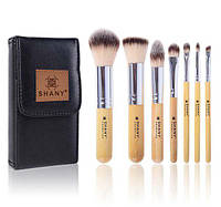 Набор кистей SHANY I love Bamboo - 7pc Petite Pro Bamboo brush set with Carrying Case