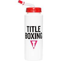 Бутылка для воды Title Boxing 32 OZ (950 мл) с трубочкой