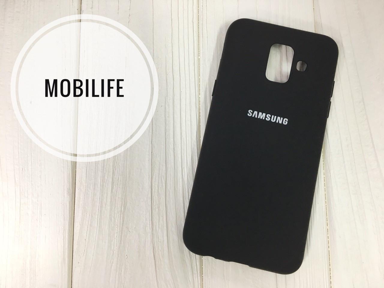 Silicon case Samsung J6 2018 black