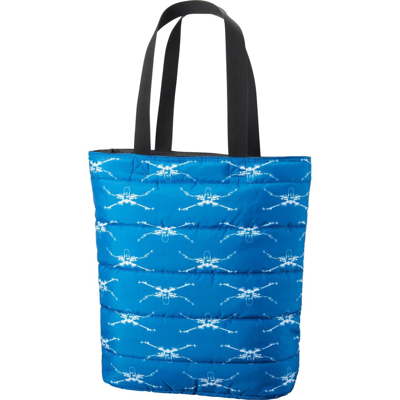 Сумка Uniqlo Women Star Wars Padded Tote Bag BLUE