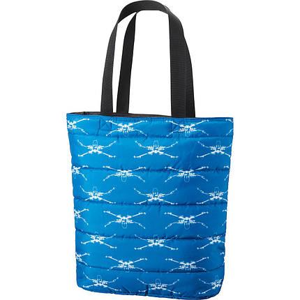 Сумка Uniqlo Women Star Wars Padded Tote Bag BLUE, фото 2