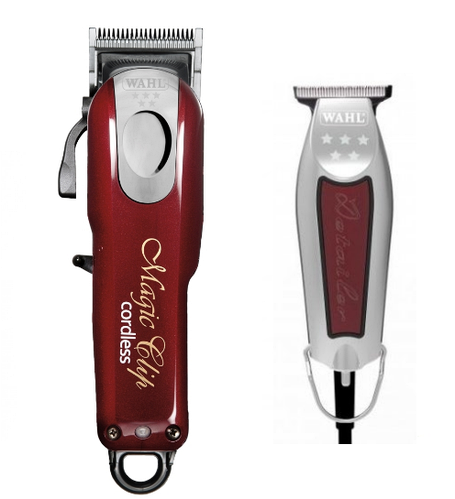 Набор машинок для стрижки Wahl Magic 5 star Combo (MagicClip Cordless + Detailer Wide)