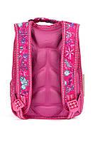 Рюкзак школьный 3D Эльза 1254 розовый Турция, фото 3